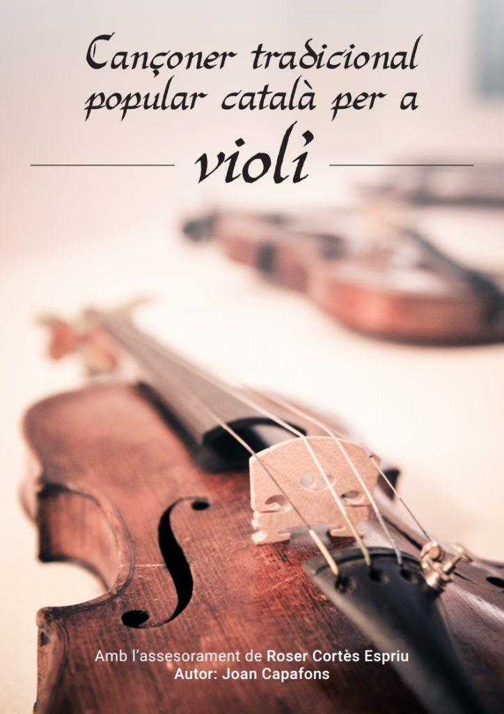 Cançoner català popular tradicional per a Violí