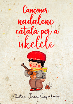 Cancionero tradicional popular navideño catalán para ukelele