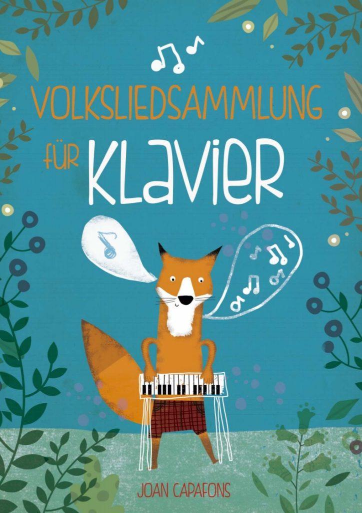 Cancionero tradicional popular alemán para Piano