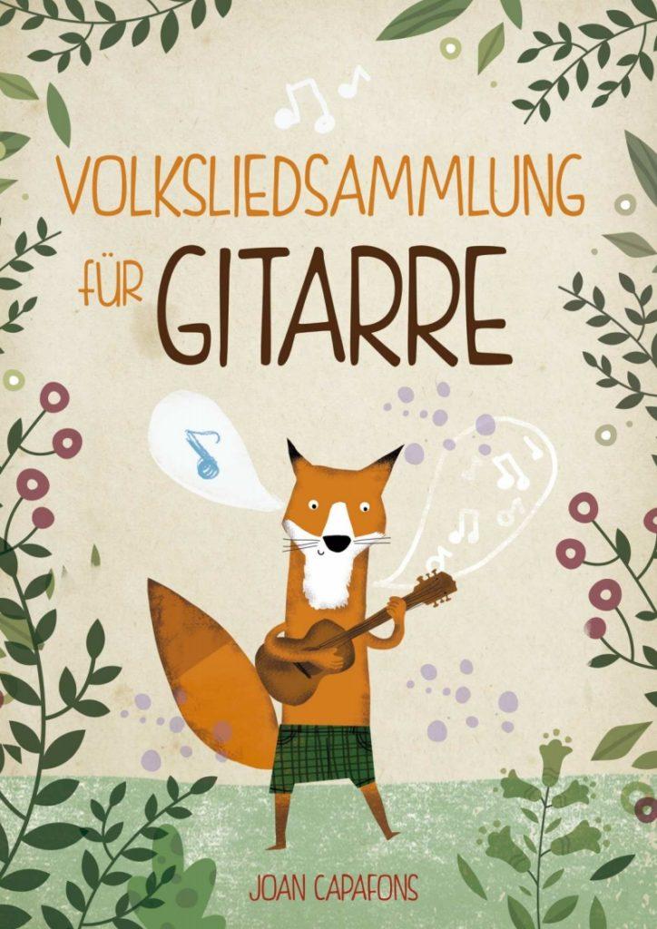 Cancionero tradicional popular alemán para Guitarra
