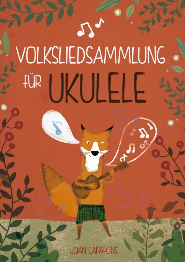 Cancionero tradicional popular alemán para Ukelele