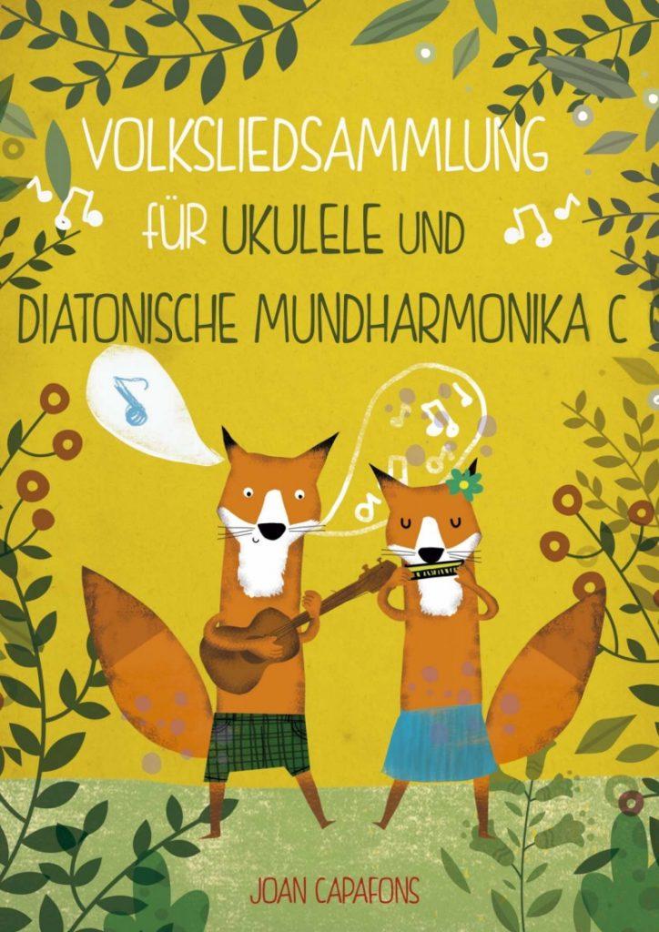 Cancionero popular tradicional alemán popular para armónica diatónica en do y ukulele